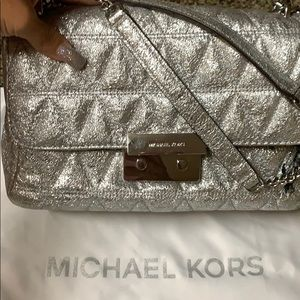Michael Kors Silver shoulder bag
